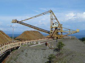 Large mining conveyor